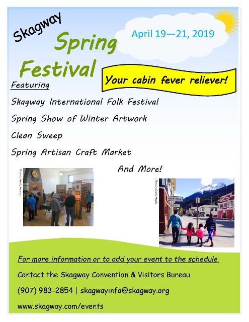 La primavera engega els Festivals a Alaska