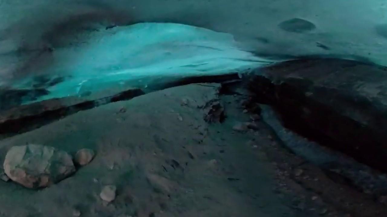 Mendenhall Glacier ice cave