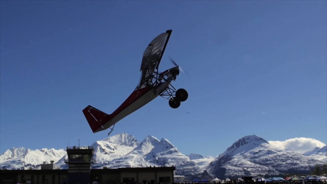 Competició STOL a Valdez, Alaska