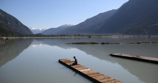 Hyder, la vila més al sud d'Alaska