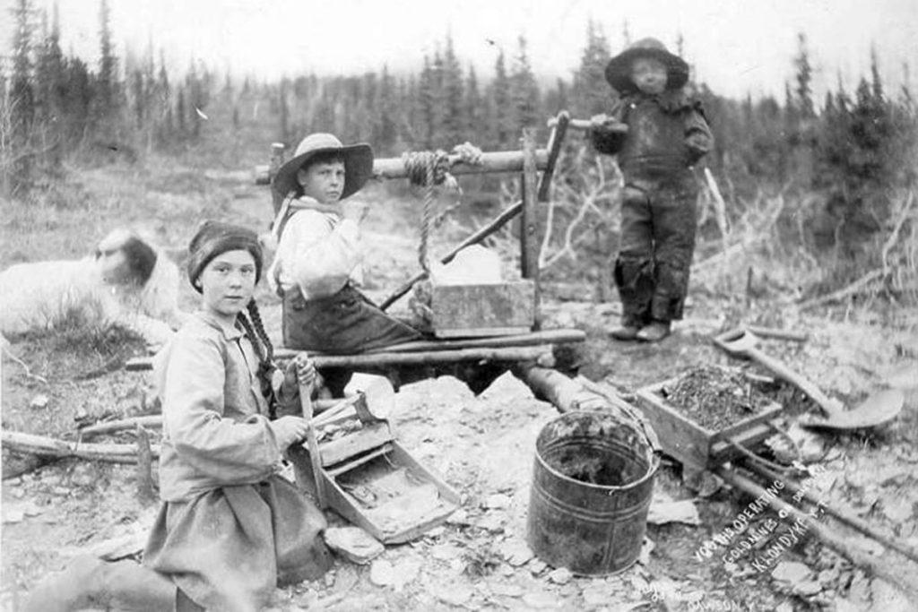 Foto de na Greta al Yukon… fa 120 anys!