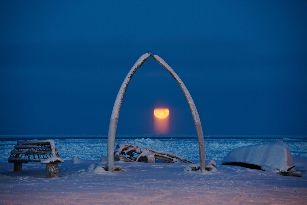 Temperatura rècord de fred a Utqiagvik