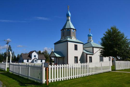 Les esglésies ortodoxes de Kenai
